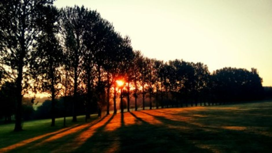 Sunrise over the 13th Hole | Lutterworth Golf Course