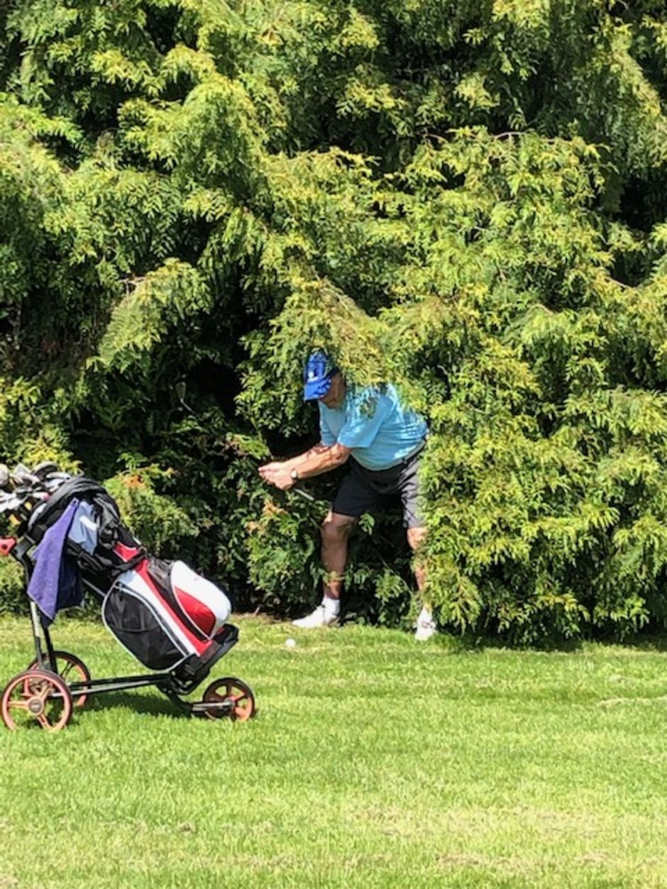 June Photo Competition winner - Not sure camouflage gear is available in the Pro Shop