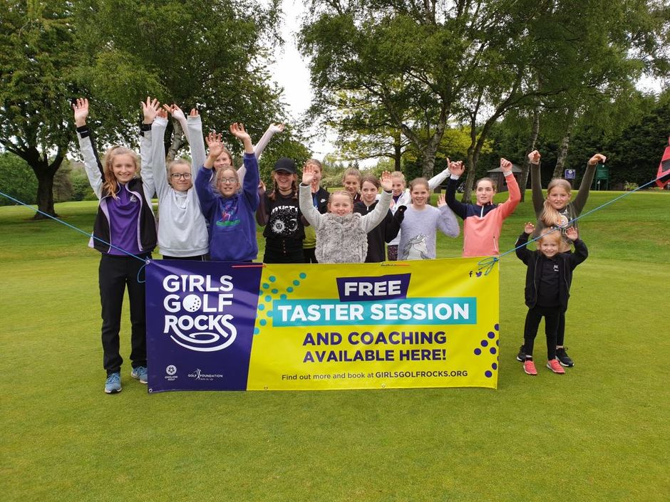 Girl Golf Rocks at Lutterworth Golf club
