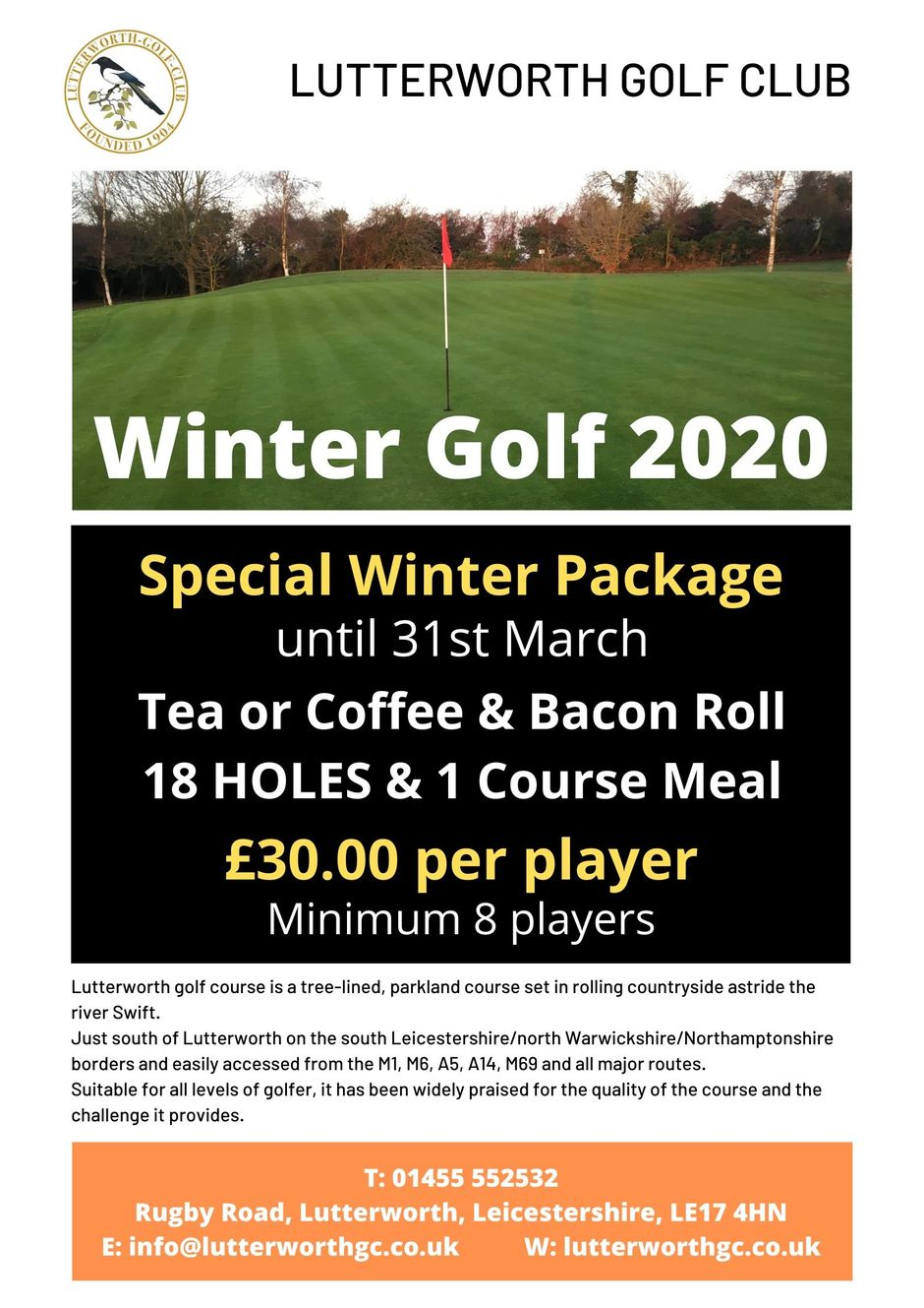 Winter Golf 2020