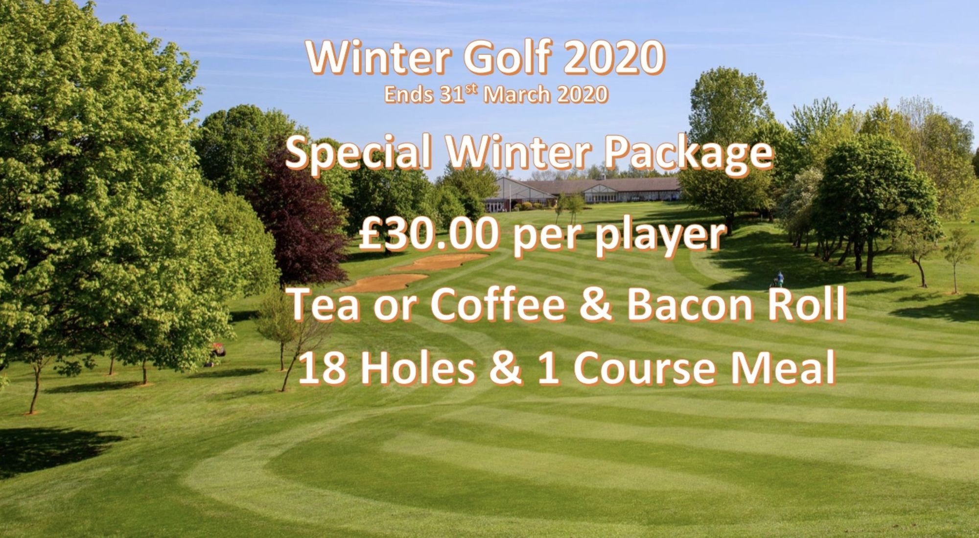 Winter Golf Offer 2020